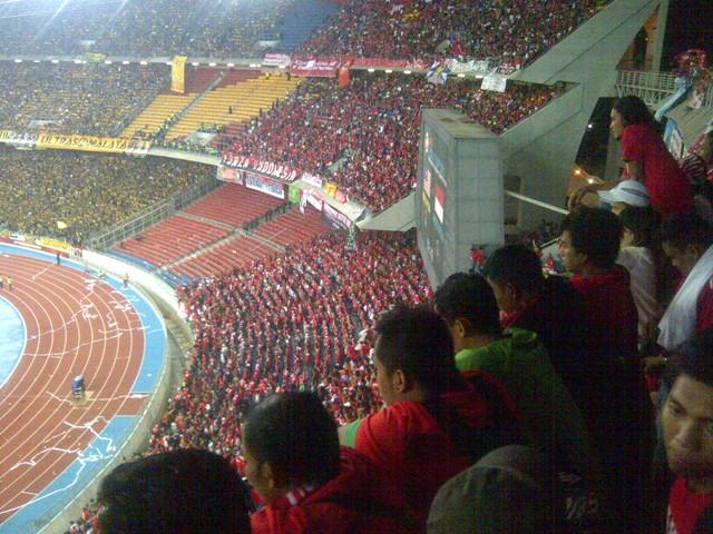 @Stadion Bukit Jalil, KL, Malaysia